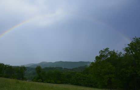 Rainbow Over Watauga