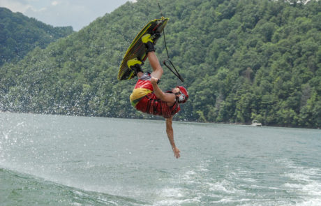 Watauga Lake Wakeboarding