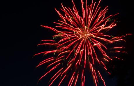 Watauga Lake fireworks