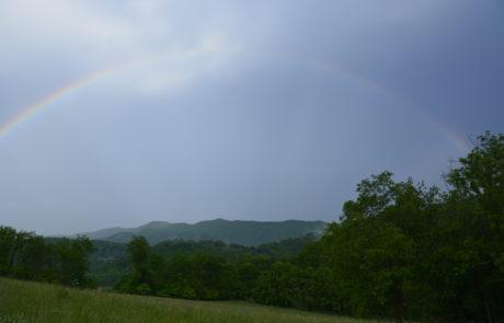 Rainbow Over Watauga